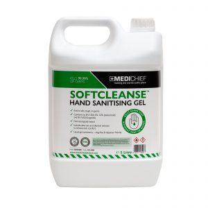 Hand Sanitiser Gel - 5000ml (5ltr)