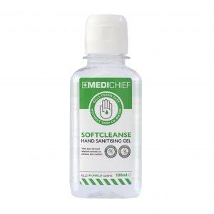 Hand Sanitiser Gel - 100ml (Pack of 4) | Medichief
