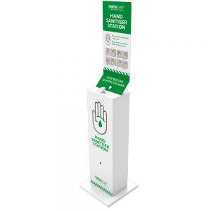 Free Standing Hand Sanitiser Station