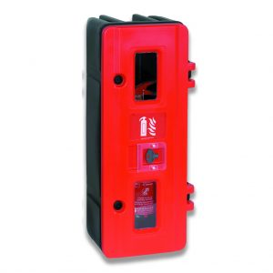 HS70K Single Fire Extinguisher Cabinet with Keybox