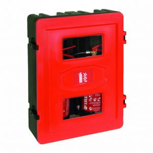 HS72 Double Fire Extinguisher Cabinet