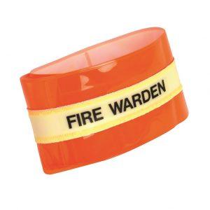 Fire Warden Photoluminescent Armband
