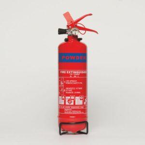 1kg ABC Powder Fire Extinguisher, Stored Pressure