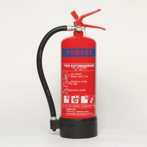 4kg ABC Powder Fire Extinguisher, Stored Pressure