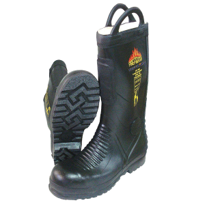 Tuffking 9684 Rubber Fire Fighting Boots